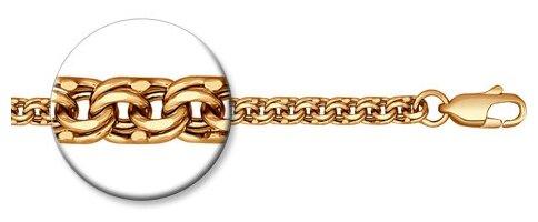 SOKOLOV Цепь из золочёного серебра с алмазной гранью 988140704