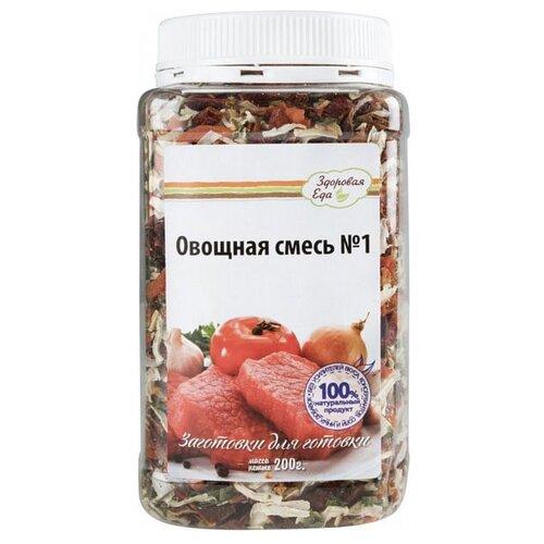 Здоровая Еда Приправа Овощная смесь №1, 200 г приправа смесь перцев spice master 670 г