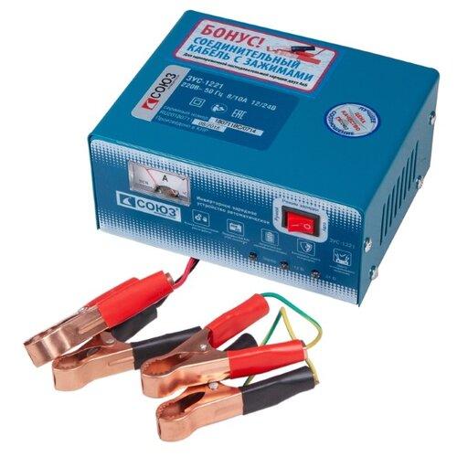 Зарядное устройство СОЮЗ ЗУС-1221 синий