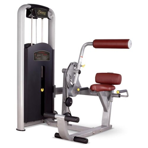 Тренажер со встроенными весами Bronze Gym MV-009 коричневый/серый голень машина bronze gym mv 017 c