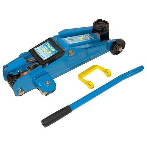 Домкрат подкатной гидравлический Dollex DT-02F (2 т) синий