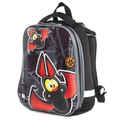 BRAUBERG Ранец Premium Летучая мышь, черный