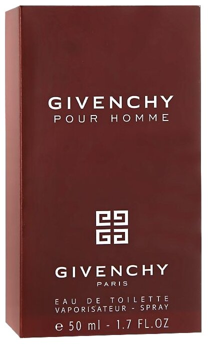 Туалетная вода GIVENCHY Givenchy pour Homme