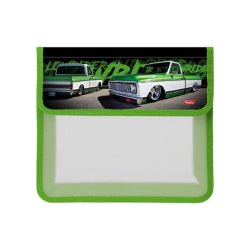 Hatber Папка для тетрадей 2 отделения на липучке A5 Low ride (AMp_52028) зеленый