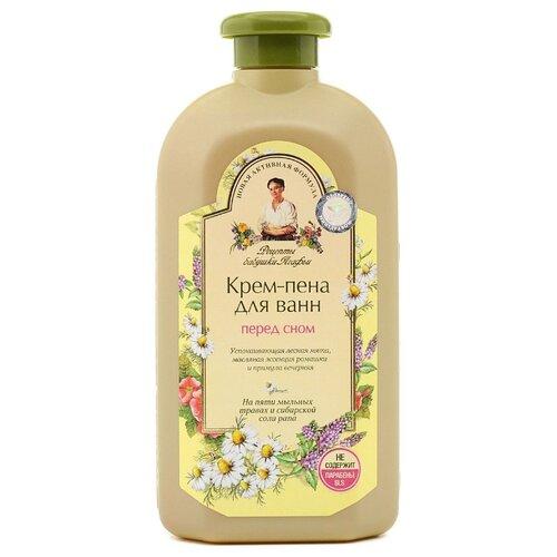 Купить Рецепты бабушки Агафьи Крем-пена для ванн Перед сном, 500 мл