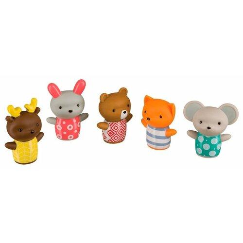 Купить Набор для ванной Happy Baby Little Friends (32024) разноцветный, Игрушки для ванной