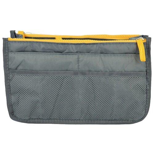 Органайзер для сумки Kingth Goldn C074, серый/желтый органайзер kingth goldn с094 черный