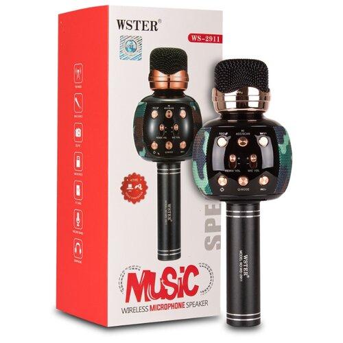 Оригинальный караоке-микрофон WSTER WS-2911 хаки