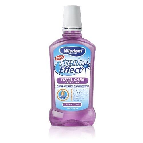 Купить Fresh Effect Total Care deep clean Antibacterial Mouthwash Ополаскиватель полости рта Глубокая очистка для десен и зубов, Wisdom