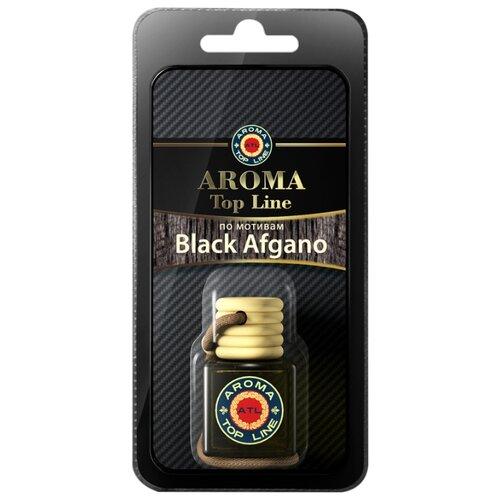AROMA TOP LINE Ароматизатор для автомобиля 3D Aroma №S019 Nasomato Black Afgano 6 мл ароматизатор автомобильный aroma car speed black на дефлектор ac92313