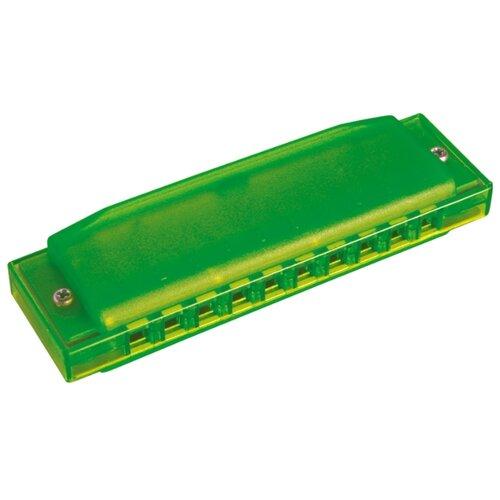Губная гармошка Hohner Happy Green (M5153) C, зеленый