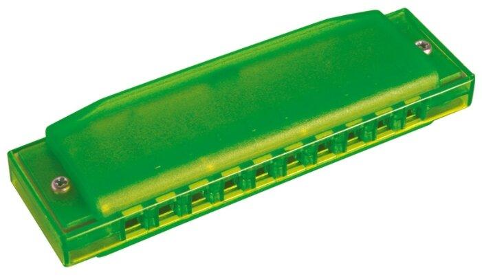Губная гармошка Hohner Happy Green C