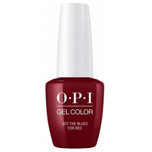 Фото - Гель-лак для ногтей OPI Classics GelColor, 15 мл, Got the Blues for Red opi гель лак для ногтей gelcolor iceland check out the old geysirs 15 мл