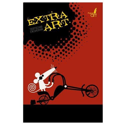 Блокнот Канц-Эксмо EXTRA ART. Мышонок байкер А5, 128 листов (ЕЖТ19512803) эксмо мышонок и капризы