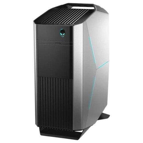 Настольный компьютер DELL Alienware Aurora R8 (R8-9065) Midi-Tower/Intel Core i7-8700/16 ГБ/256 ГБ SSD/1000 ГБ HDD/NVIDIA GeForce GTX 1080/Windows 10 Home черный/серебристый