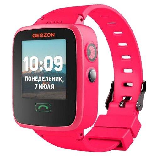Детские умные часы c GPS GEOZON AQUA розовый детские умные часы c gps geozon active розовый