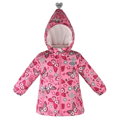 Куртка Reike Butterflies размер 104, розовыйКуртки и пуховики<br>