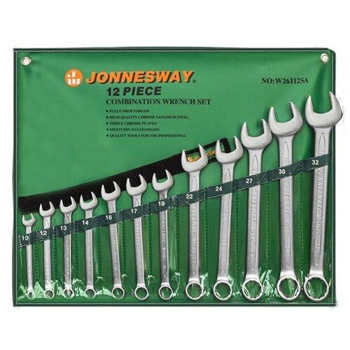 Набор гаечных ключей JONNESWAY (12 предм.) W26112SA набор инструментов jonnesway w26112sa 12 предметов [48140]