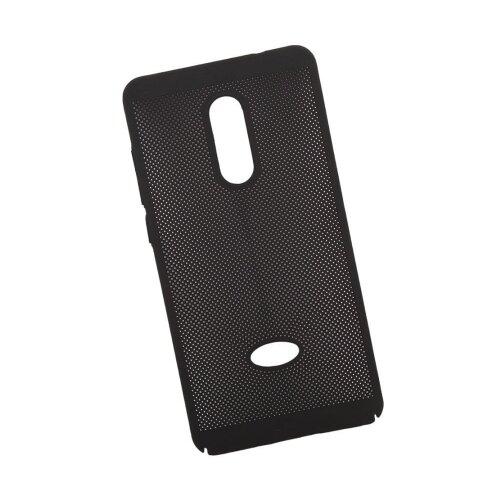 Чехол Liberty Project Сетка Soft Touch для Xiaomi Redmi Note 4 черный