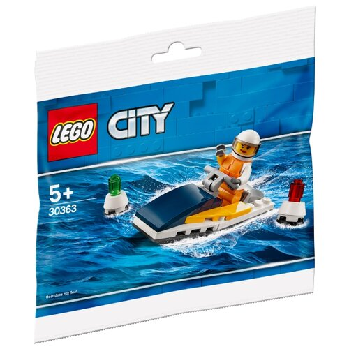 Купить Конструктор LEGO City 30363 Гоночный катер, Конструкторы
