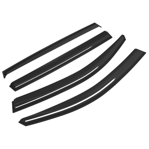 Дефлектор окон Voron Glass Corsar DEF00541 черный цена 2017