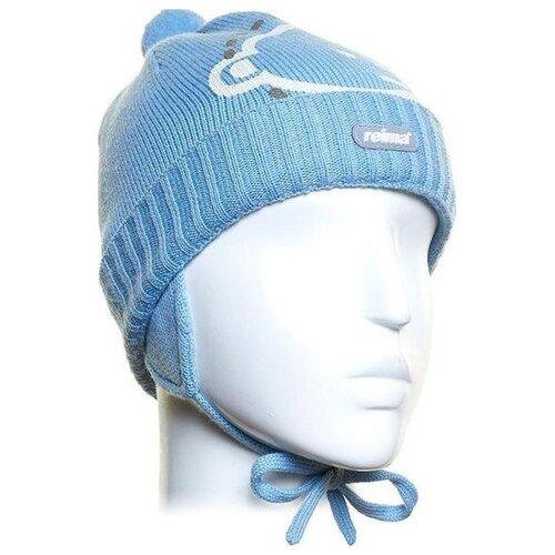Купить Ушанка Reima размер 48, blue, Головные уборы