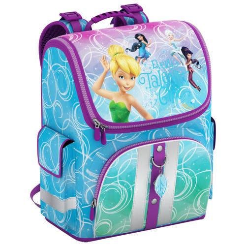 Купить ErichKrause Ранец Disney Цветочная вечеринка Light 42267 голубой, Рюкзаки, ранцы