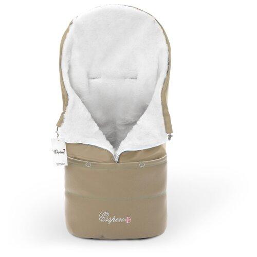 Купить Конверт-мешок Esspero Transformer Arctic 105 см cappuccino, Конверты и спальные мешки