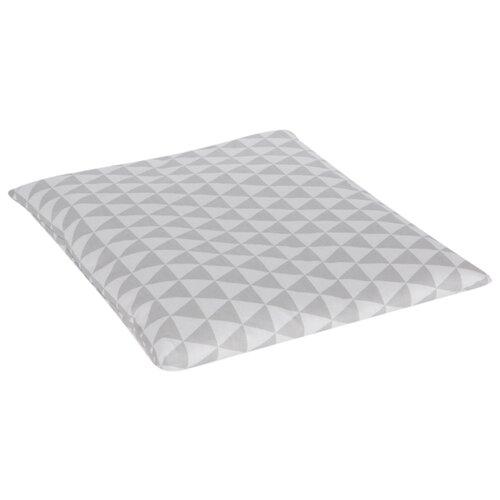 Подушка Зайка Моя Ромбы 40х40 см серыйПокрывала, подушки, одеяла<br>