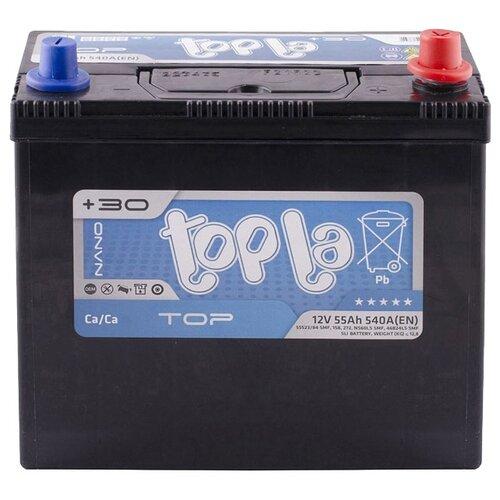 Автомобильный аккумулятор Topla Top JIS 118255 topla аккумулятор легковой topla top jis 45 ач о п b19l