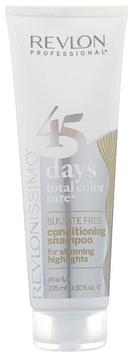 Шампунь Revlon Professional Revlonissimo 45 Days Total Color Care 2 in 1 for Stunning Highlights