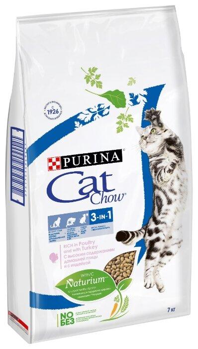 Корм для кошек CAT CHOW для профилактики МКБ, с индейкой