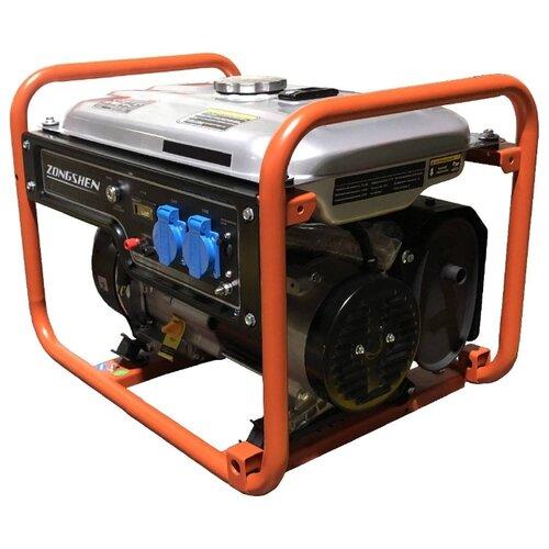 цена на Бензиновый генератор ZONGSHEN PB 2500A (2000 Вт)