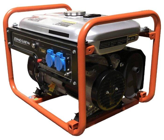 Бензиновый генератор ZONGSHEN PB 2500A (2000 Вт)