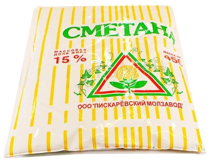 Пискаревский молочный завод Сметана 15%