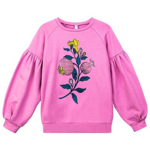 цены Свитшот playToday размер 152, розовый