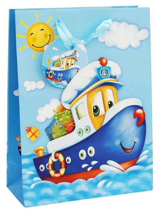 Пакет подарочный Perfect Craft Кораблик 26 х 32 х 10 см