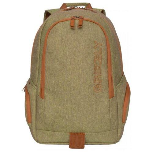 Рюкзак Grizzly RQ-901-1 19 горчичный