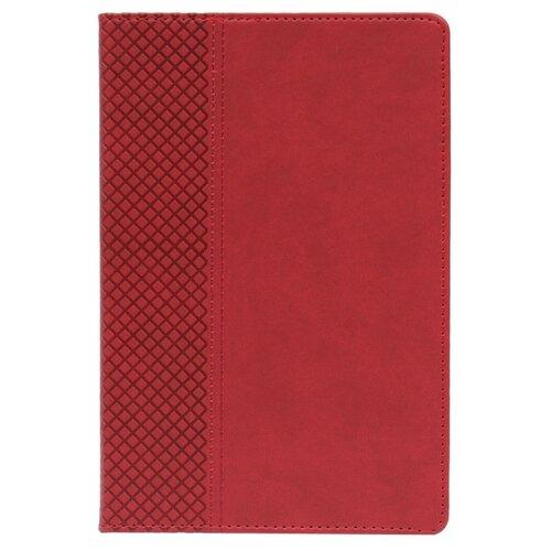 Купить Ежедневник Collezione Классикнедатированный, искусственная кожа, А5, 136 листов, красный, Ежедневники, записные книжки