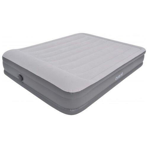 Надувная кровать Jilong Queen 27492EU светло-серый кровать надувная iintex prestige downy queen 66969 203x152х22см