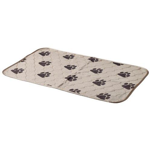 Пеленки для щенков многоразовые впитывающие ZooOne 6040M 60х40 см бежевый пеленки для щенков многоразовые впитывающие zooone 6040m 60х40 см бордовый