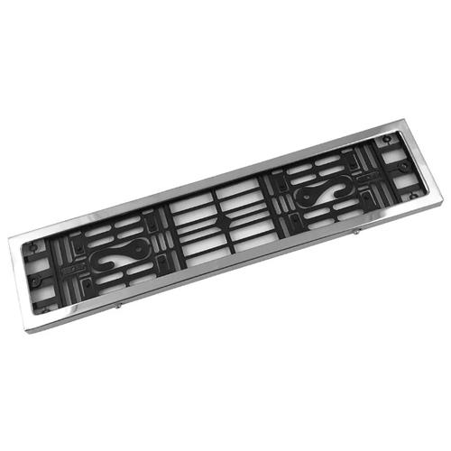 Рамка для номера Dollex SPL-11 нержавеющая сталь 1 шт.