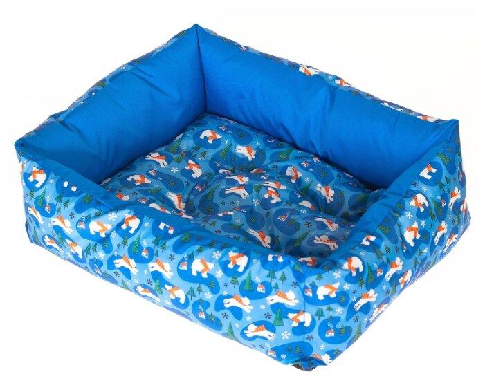Лежак для собак HappyPuppy Лежак для собак Happy Puppy Умка S 40х30х12 см