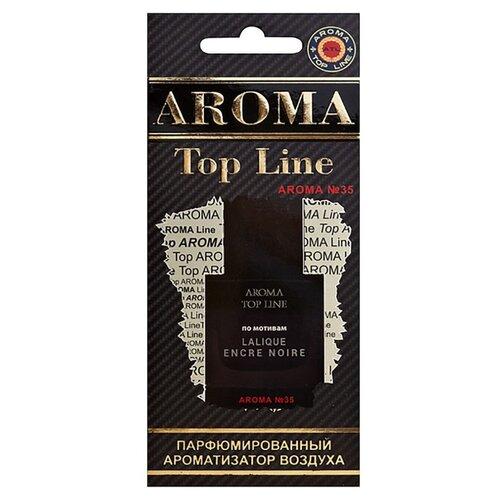AROMA TOP LINE Ароматизатор для автомобиля Aroma №35 Lalique Encre Noire 14 г