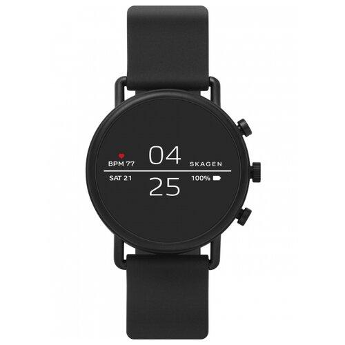 Умные часы SKAGEN Falster 2 (silicone), black