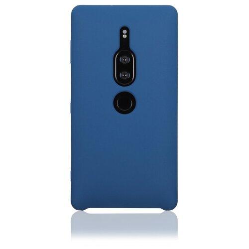 Чехол Rosco XZ2P-SOFTRUBBER для Sony Xperia XZ2 Premium темно-синий