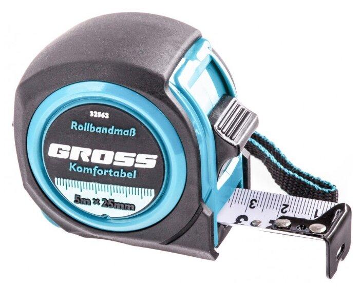 Рулетка Gross Komfortabel 32562 25 мм x 5 м