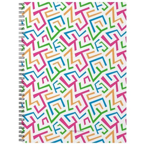 Купить ErichKrause Тетрадь Lines 45973, клетка, 60 л. разноцветный, Тетради