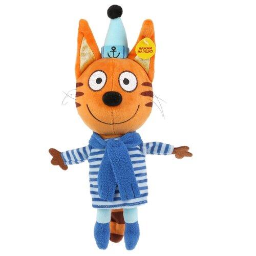 Мягкая игрушка Мульти-Пульти Три кота Коржик в зимней одежде 18 см мягкая игрушка мопс в одежде микс цветов 11 7 см