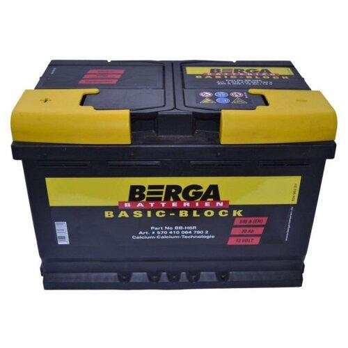 Автомобильный аккумулятор Berga BB-H6R аккумулятор